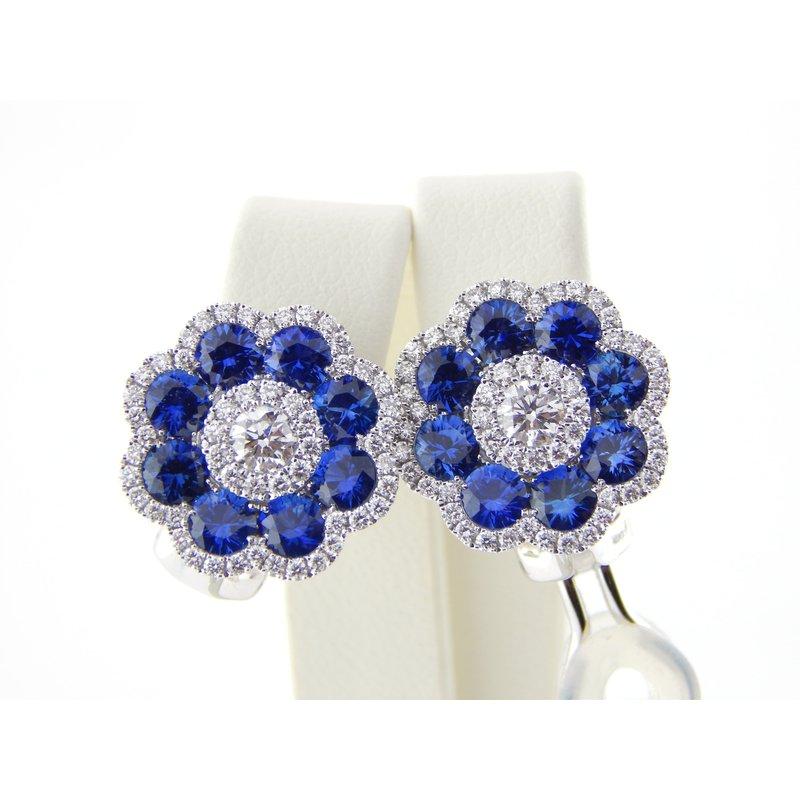 WS Creations Sapphire Earrings