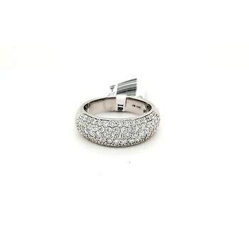 18k Pave Diamond Ring