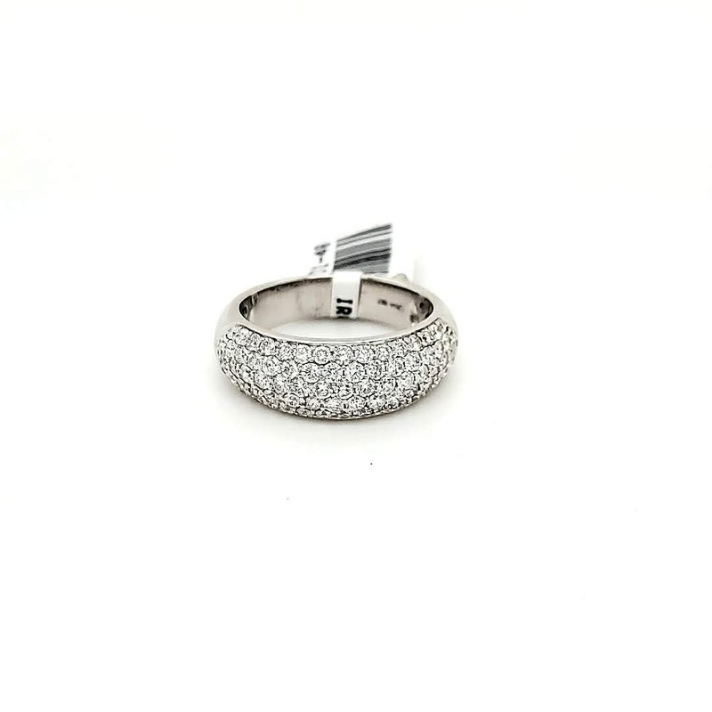Iroff and Son Jewelers  18k Pave Diamond Ring