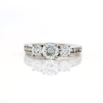 11 Stone Ring engagement