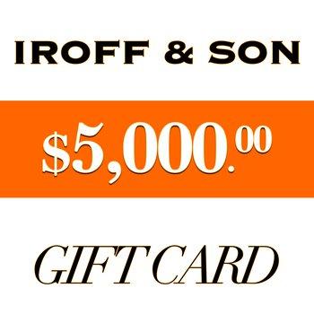 $5000 Gift Card