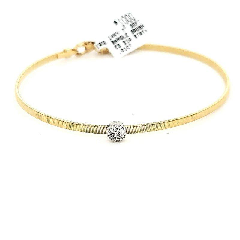 Iroff and Son Jewelers  Flexible Single Station Bracelet