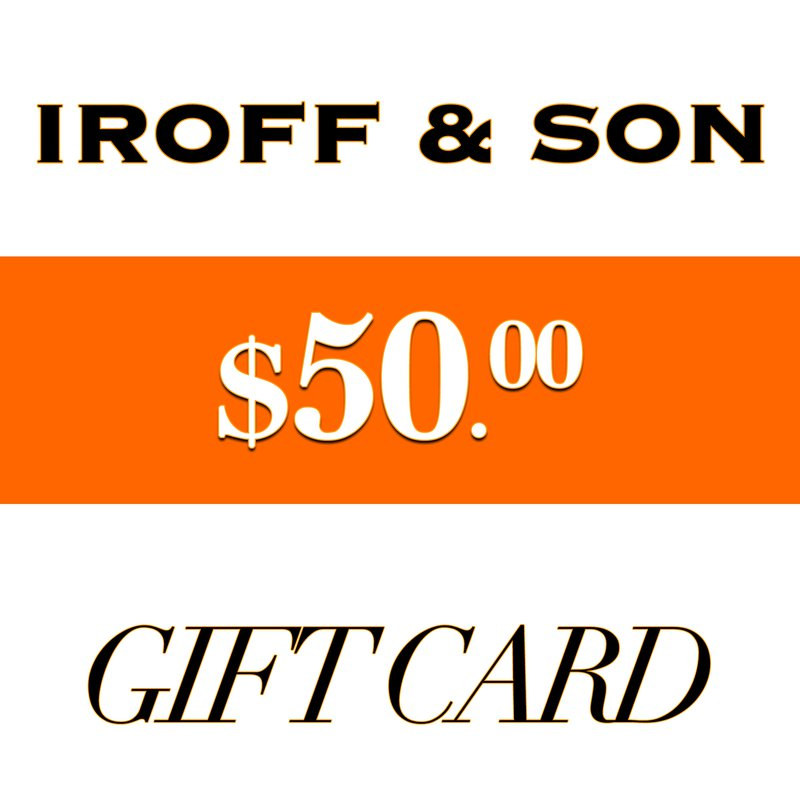Iroff and Son Jewelers  $50 Gift Card