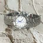 Estate Jewelry Raymond Weil Geneve Parsifal MOP and Diamond 22mm Ladies Watch Swiss Made