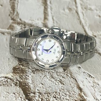 Raymond Weil Geneve Parsifal MOP and Diamond 22mm Ladies Watch Swiss Made