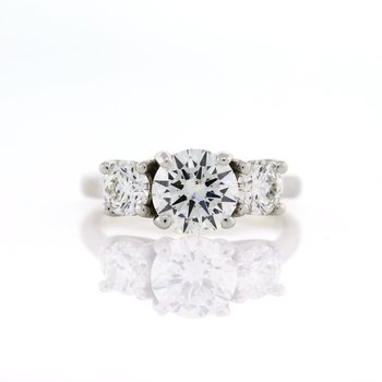 3 Stone Ring 2.34