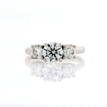 3 Stone Ring 1.74tw