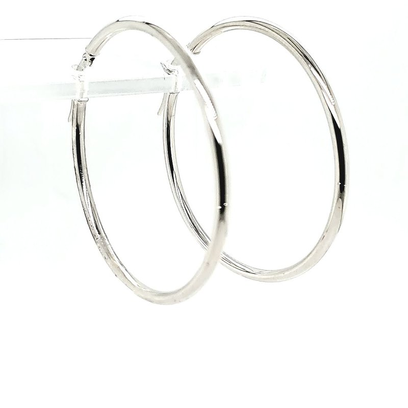 Iroff and Son Jewelers  Gold hoop Earring
