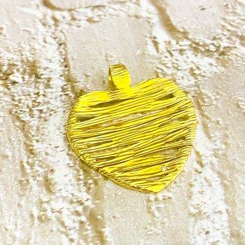 Roberto Coin 18K Gold Elephant Skin Heart Pendant
