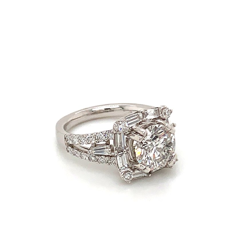 Van Atkins 14KT White Gold Diamond Ring