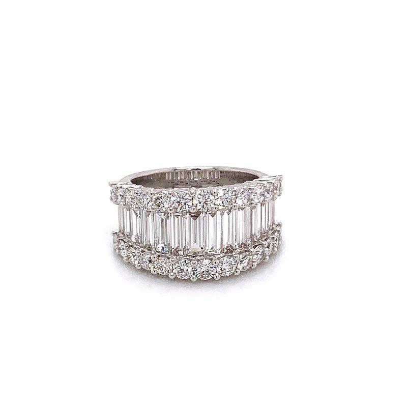 Van Atkins 18KT White Gold Wedding Ring