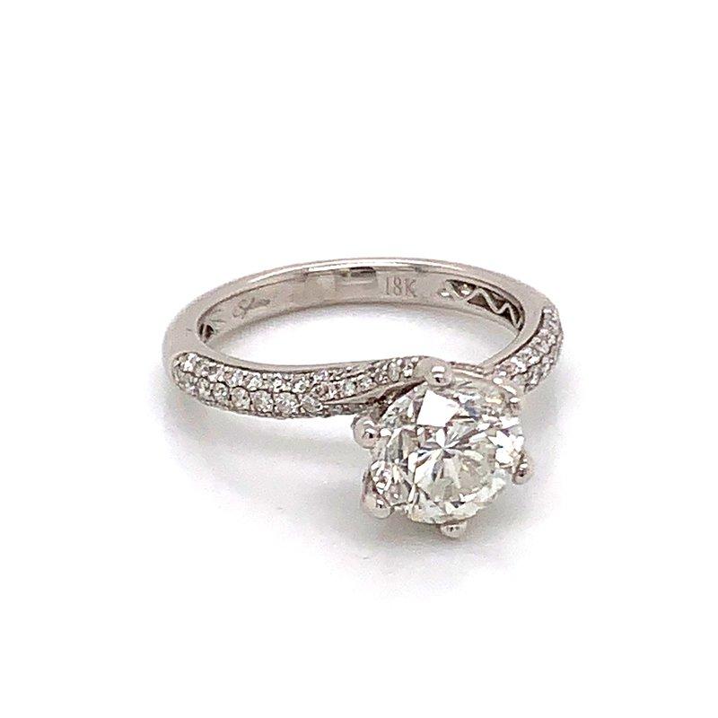 Van Atkins 18KT White Gold Diamond Ring