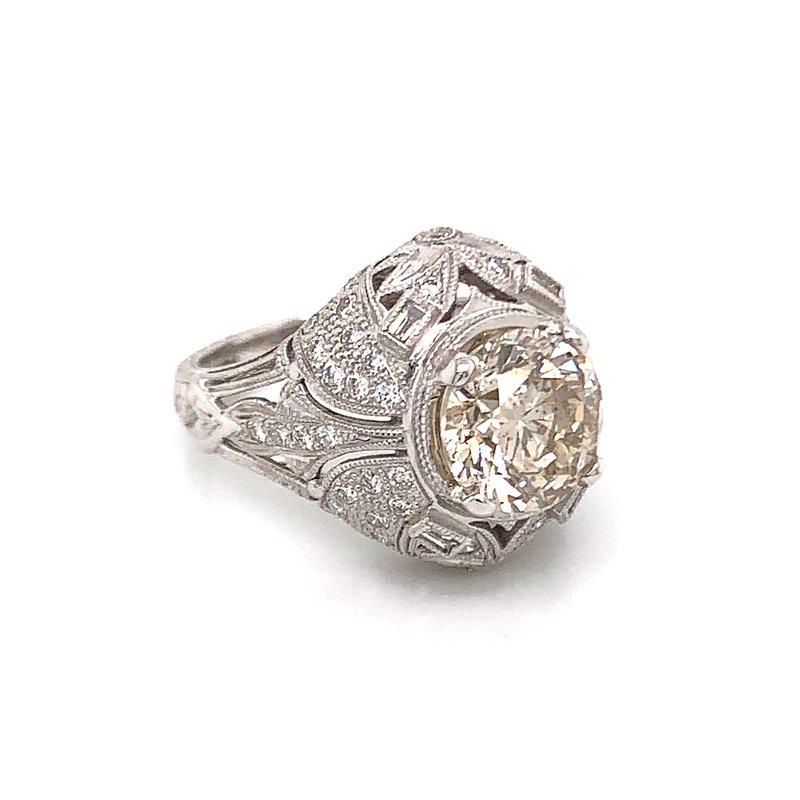Van Atkins 14KT White Gold Diamond Ring