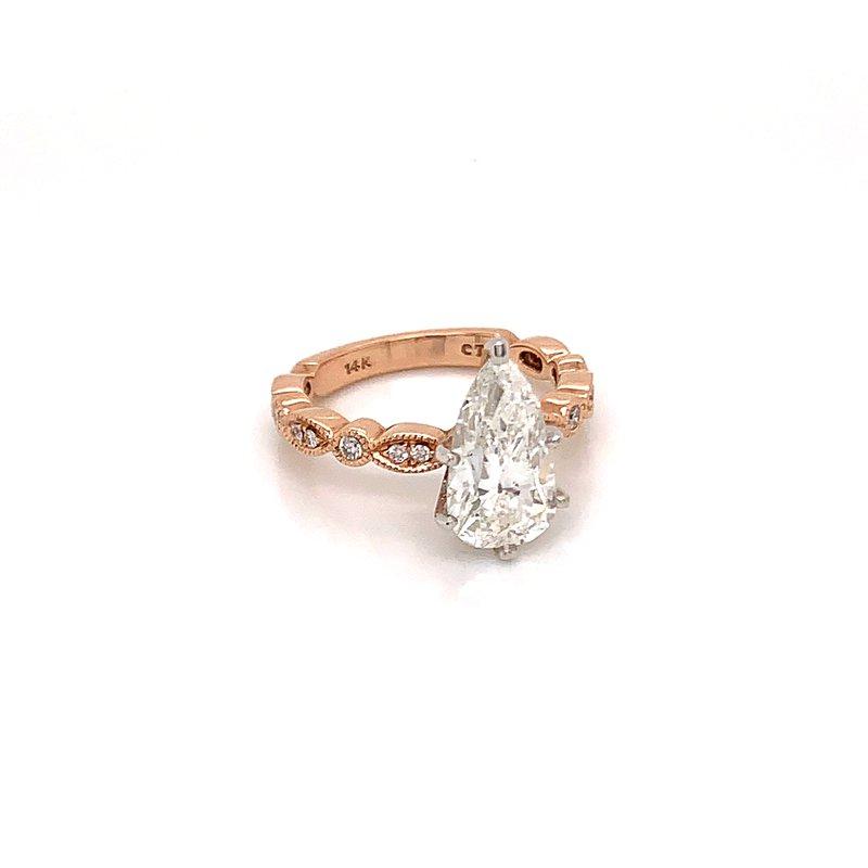 Van Atkins 14KT Rose Gold Diamond Ring