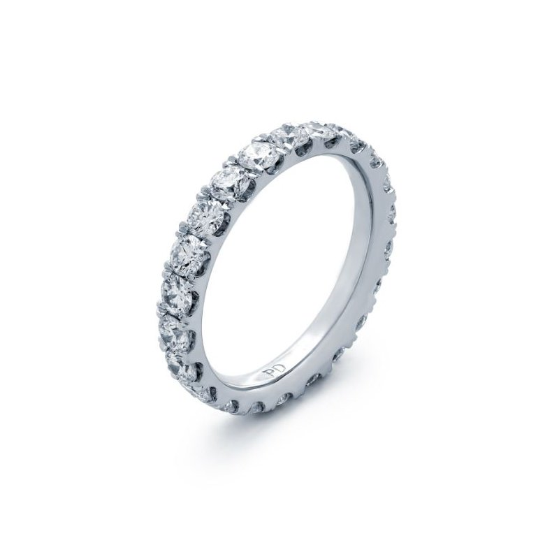 Lauray's Signature Collection White Gold Diamond Eternity Band