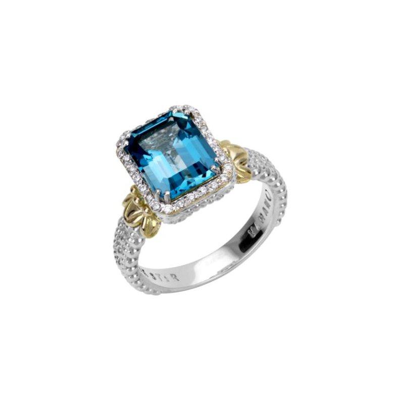 Alwand Vahan Blue Topaz Ring
