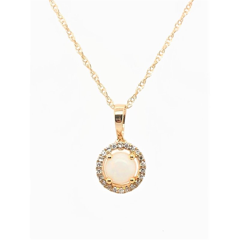 Lauray's Signature Collection October Birthstone Opal Necklace