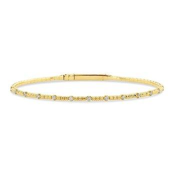 Yellow Gold and Titanium Bracelet