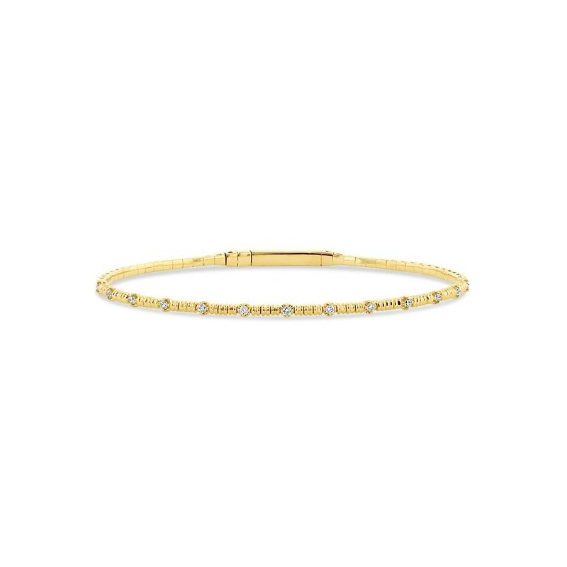 Lauray's Signature Collection Yellow Gold and Titanium Bracelet