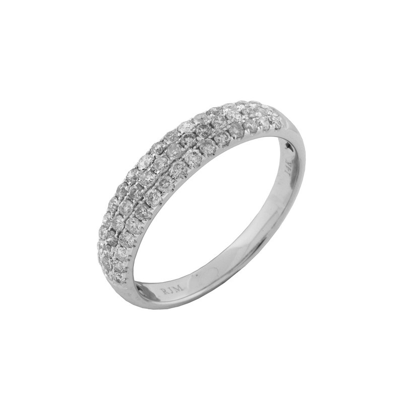 Lauray's Signature Collection 3 Row Diamond Band