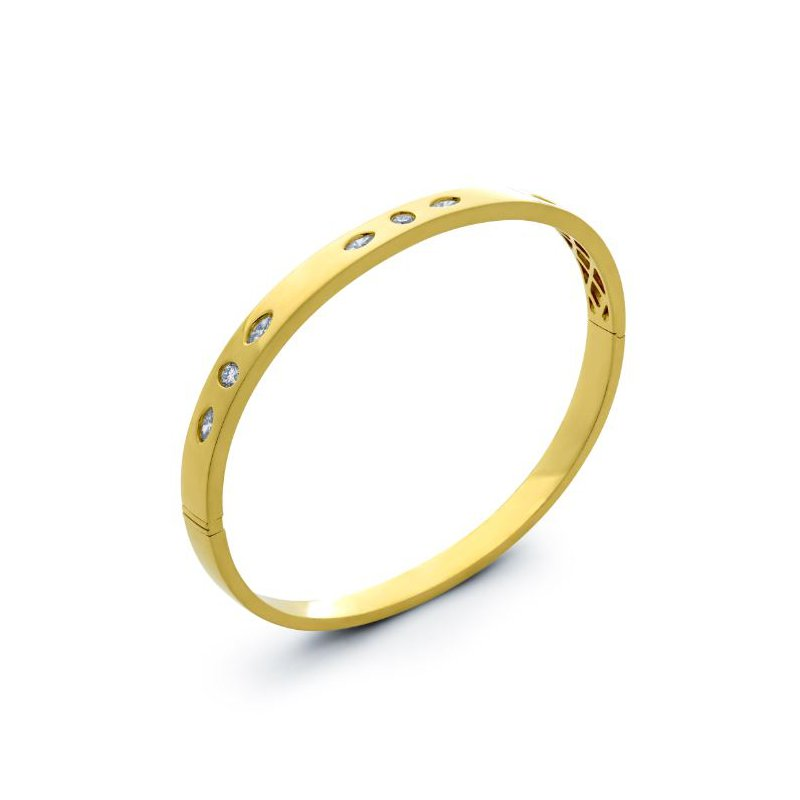 Lauray's Signature Collection Yellow Gold Band