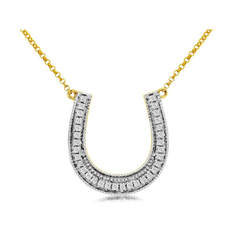Lauray's Signature Collection Diamond Horseshoe Necklace