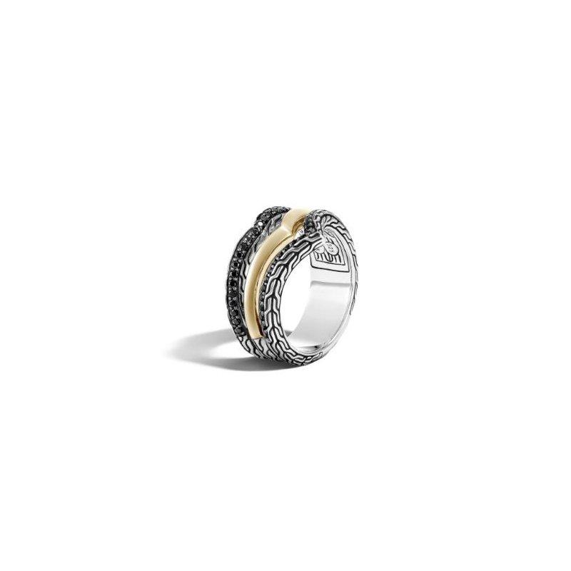 John Hardy Tiga Multi Row Ring