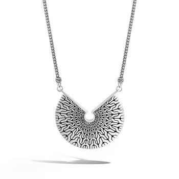 """Radial Adjustable 16"""" Pendant Necklace"""