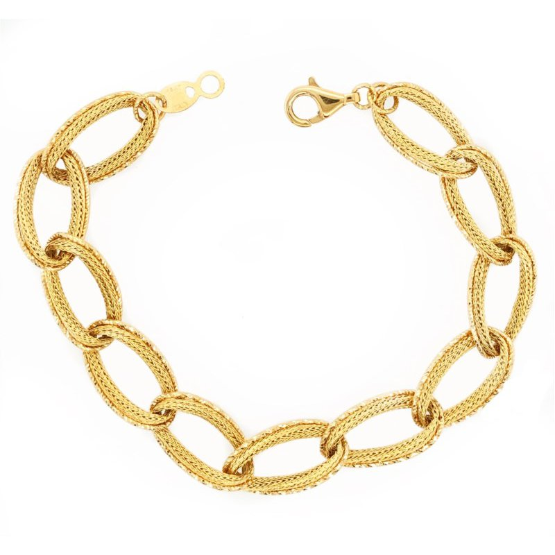 Lauray's Signature Collection Yellow Gold Link Bracelet