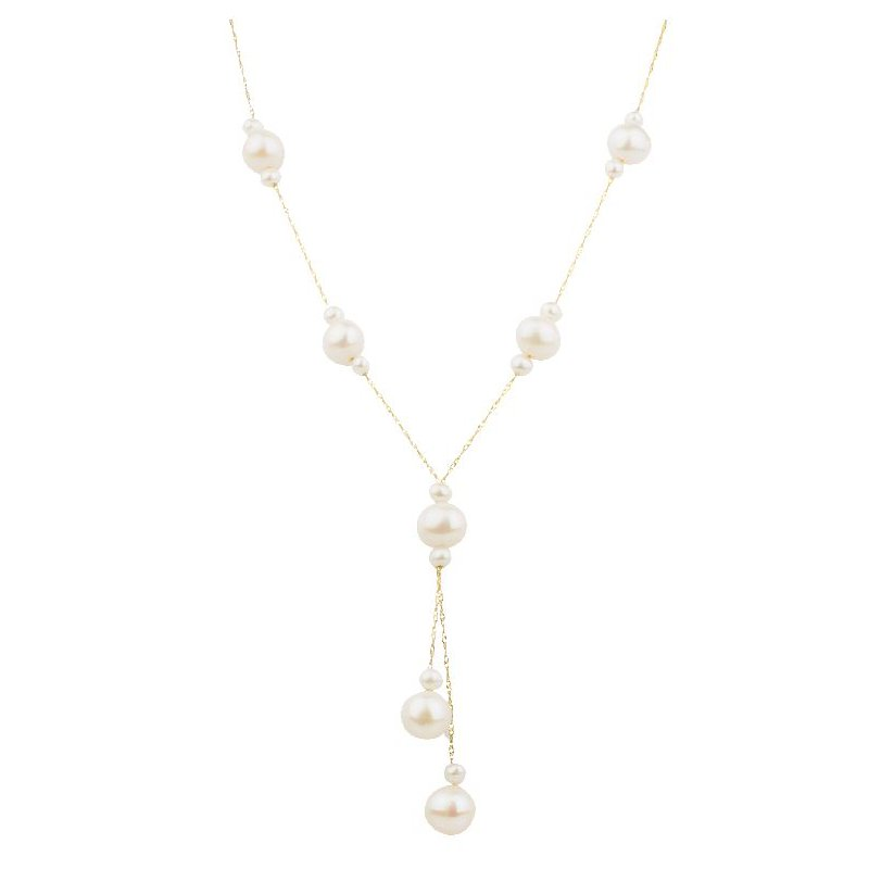 Lauray's Signature Collection Freshwater Pearl Drop Necklace