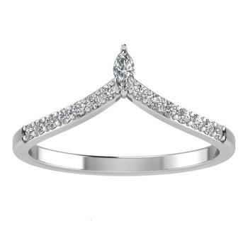 Chevron Diamond Tiara Band