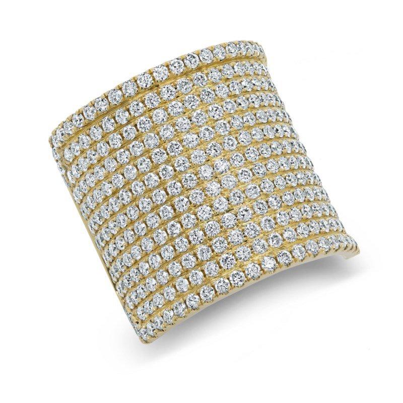 Shy Creation Diamond Fashion ring