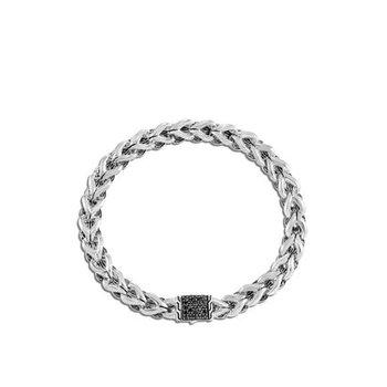 Asli Chain Link Bracelet, Black Sapphire