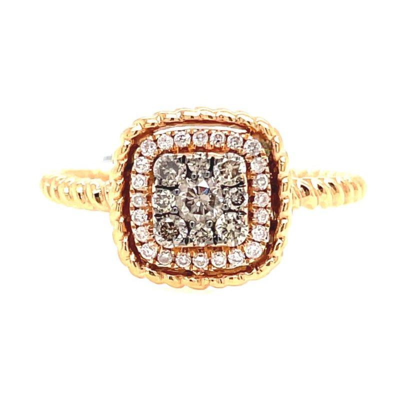 Lauray's Signature Collection Yellow Gold Fashion Ring