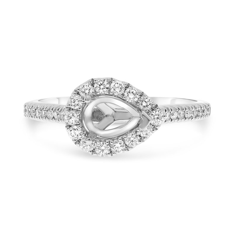 Lauray's Signature Collection Pear Shaped Semi Mounting