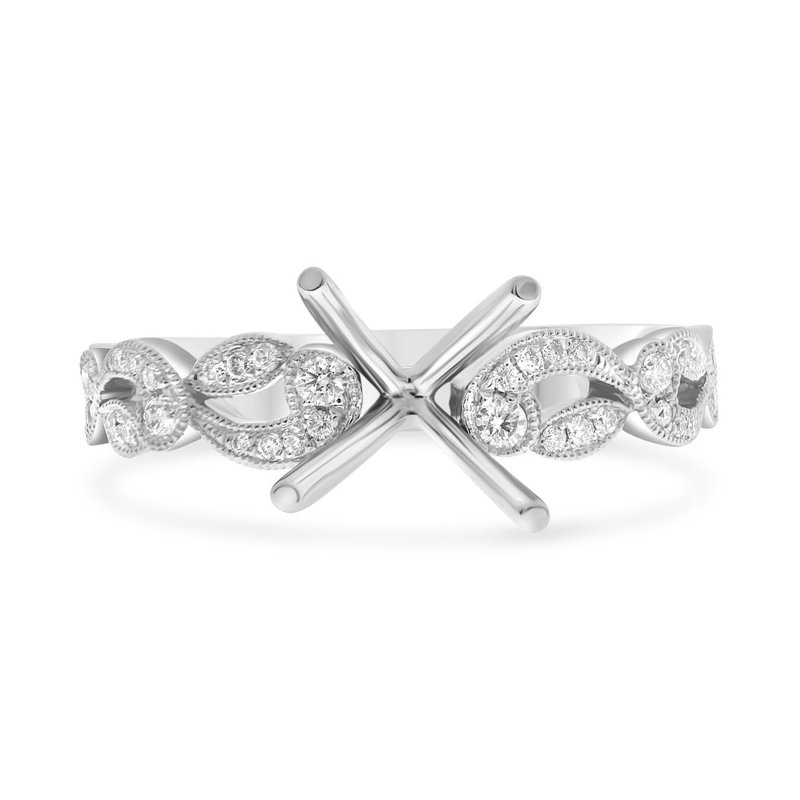 Lauray's Signature Collection Diamond Semi Mounting