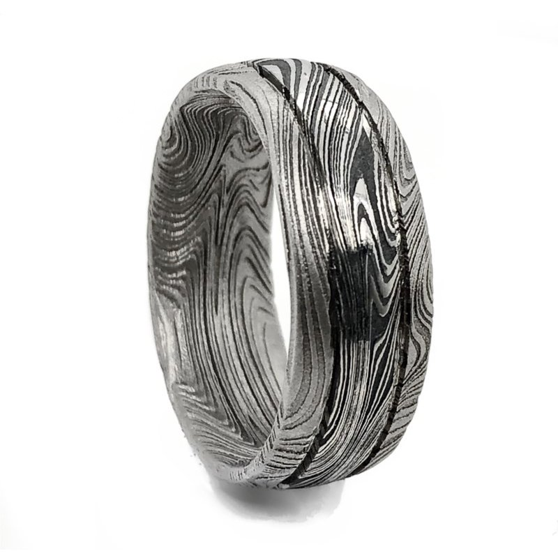 Lauray's Signature Collection Marble Damascus Band