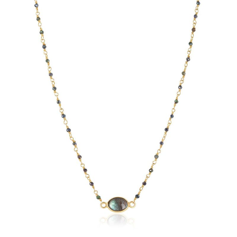 ela rae new york city Libi Labradorite Necklace