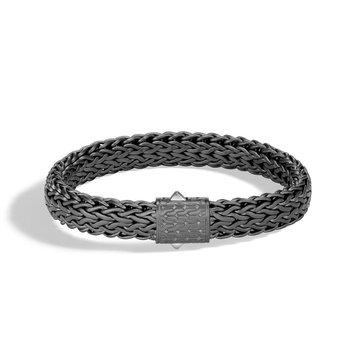 Black Rhodium Classic Chain Bracelet
