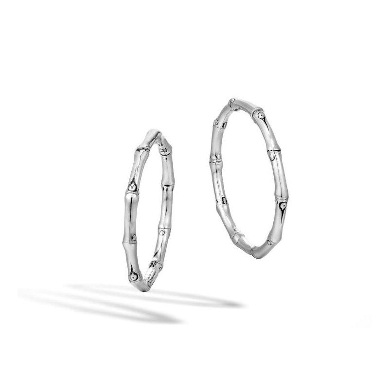 John Hardy Medium Hoop Earrings