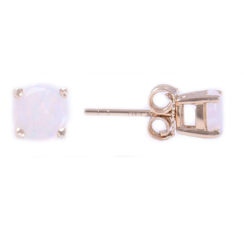 Lauray's Signature Collection Opal Birthstone Earrings