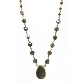 Ara Labradorite Necklace