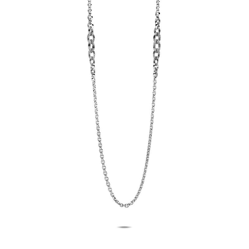 John Hardy Classic Chain Knife Edge Long Necklace