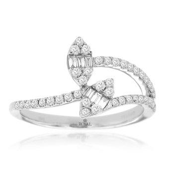 White Gold Fashion Ring