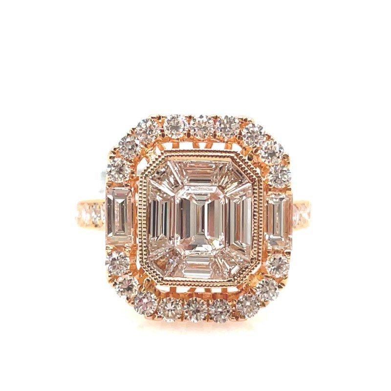 Lauray's Signature Collection Rose Gold Fashion Ring