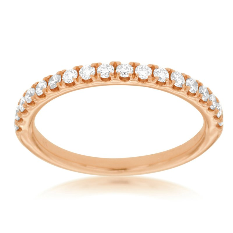 Lauray's Signature Collection Rose Gold Wedding Band