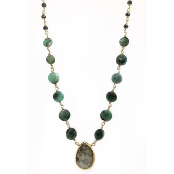 Ara Labradorite Necklace