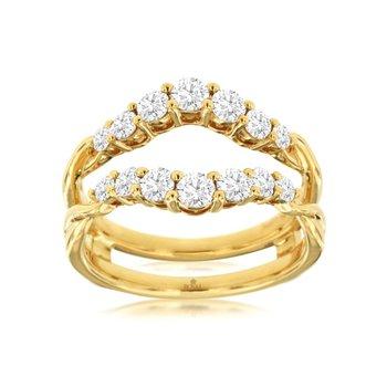 Diamond Insert Ring