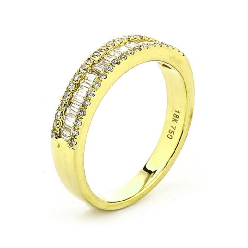 Lauray's Signature Collection Yellow Gold Diamond Band