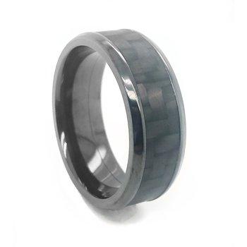Zirconium Carbon Fiber Band